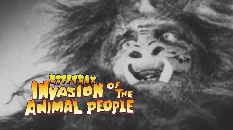 RiffTrax Invasion of the Animal People (preview)