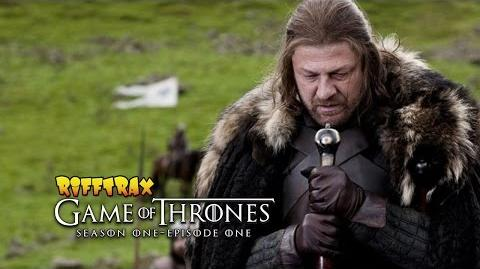"RiffTrax Game of Thrones S01E01 ""Winter is Coming"" Free preview!"