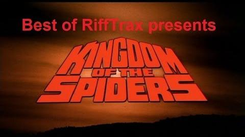 Best of RiffTrax Kingdom of the Spiders