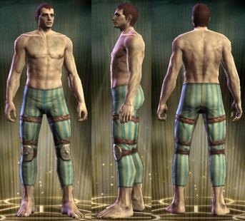 ED Leather Legs Male