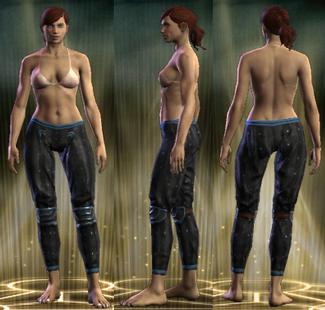 PvP R6 Leather Stalker Legs Female