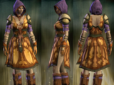 Purple and Yellow Cloth Set