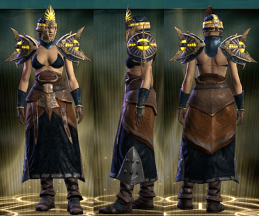 PvP R4 Cloth Seer Set Female