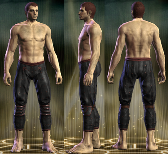 PvP R6 Leather Legs Vigilante Male