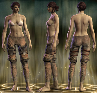 Warlord's Legs Female