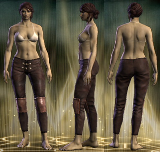 Bruiser's Legs Female