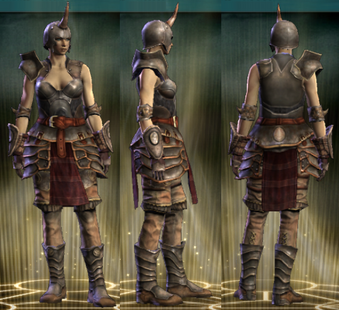Warlord's Set Female