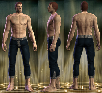 PvP R6 Cloth Clairvoyant Legs Male