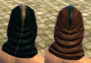 Leather Cyan Dark Dye