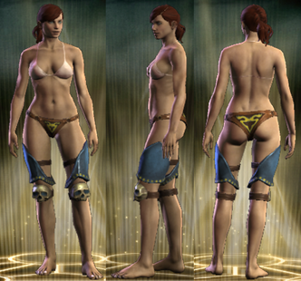 PvP R4 Plate Tactician Legs Female