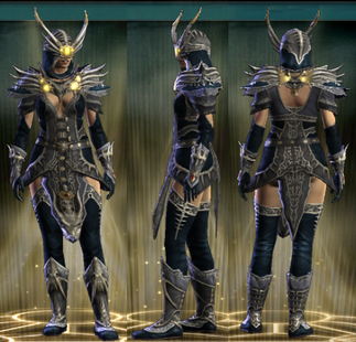 PvP R6 Cloth Clairvoyant Set Female