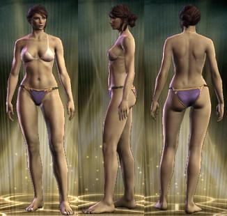 Yellow Robe Legs Female