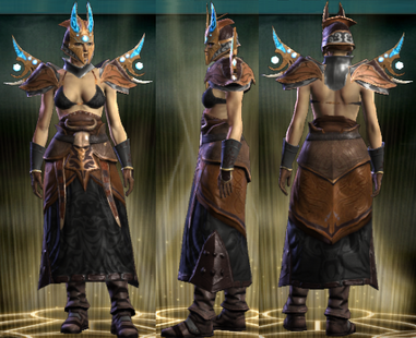 PvP R4 Cloth Set Occultist Female