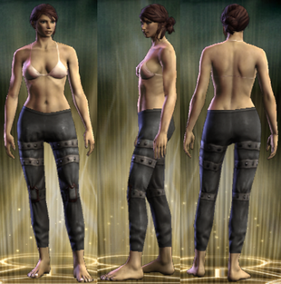 PvP R4 Leather Legs Seditionist Female