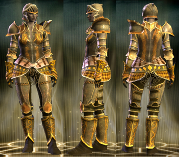 Gold Plate Set Female1