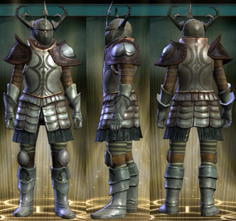 Vindicator's Set Male
