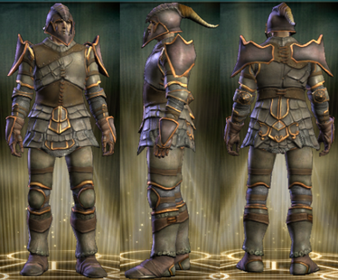 Hussar's Plate Set Male