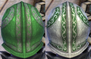 Plate Green Dye