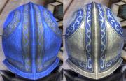 Plate Blue Dye