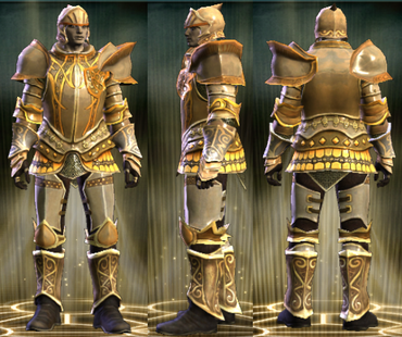 Gold Plate Set Male1