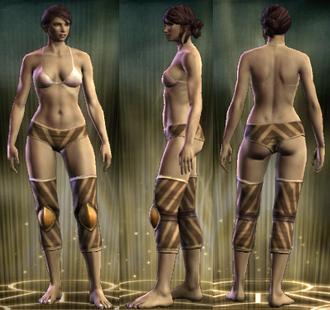 Cavalier's Legs Female