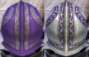 Plate Purple Dye