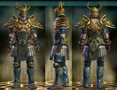 PvP R4 Plate Tactician Set Male