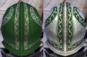 Plate Green Dark Dye
