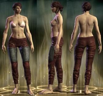 ED Cloth Legs Female
