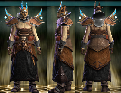 PvP R4 Cloth Set Occultist Male