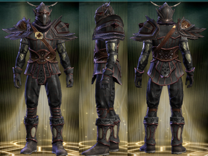 PvP R6 Leather Set Vigilante Male