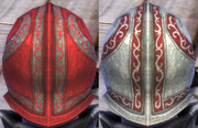 Plate Red Dye