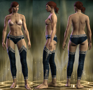 PvP R6 Cloth Clairvoyant Legs Female