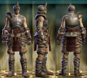 Warlord's Set Male