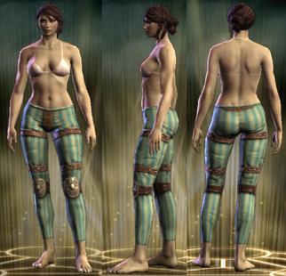 ED Leather Legs Female