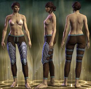 Silver Legs Female