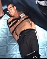 Shirtless Bound Reporter