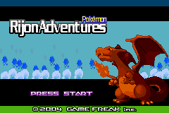 Rijon Adventures Title
