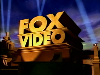 Fox Video 1995 logo