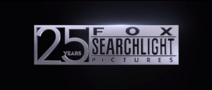 Fox Searchlight Pictures 25 Years logo
