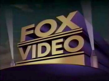 Fox Video 1993 logo
