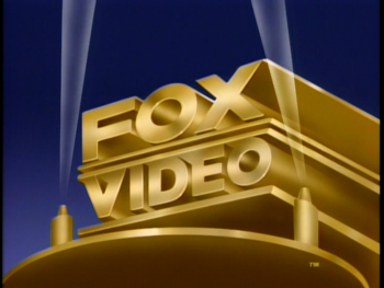 Fox Video 1991 logo