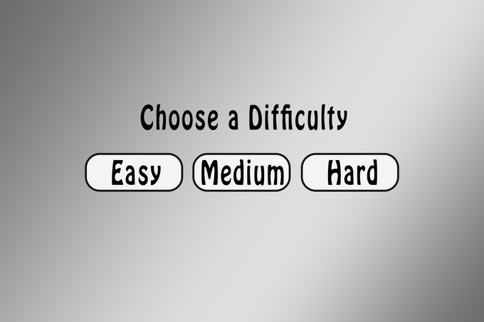 Difficulty-Screen