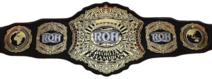 ROH World Championship belt