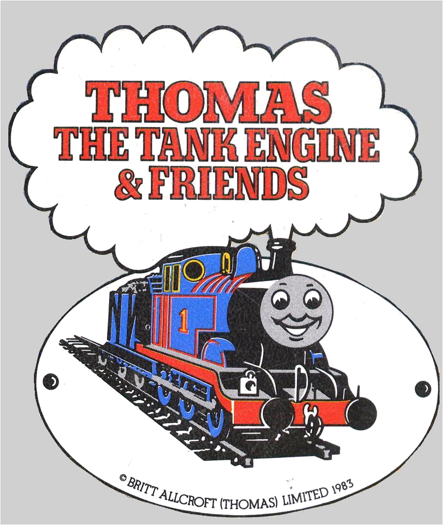 1980sThomaslogo Thomas The Tank Engine
