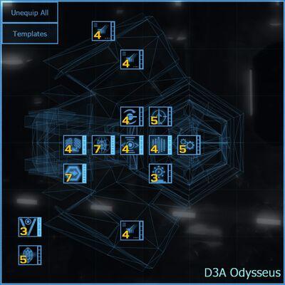 D3A Odysseus blueprint updated