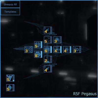 R5F Pegasus blueprint updated
