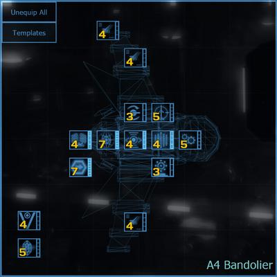 A4 Bandolier blueprint updated