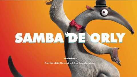Music track 3 - Samba De Orly (cool down)