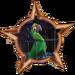 Bronze Badge Crazy Bird